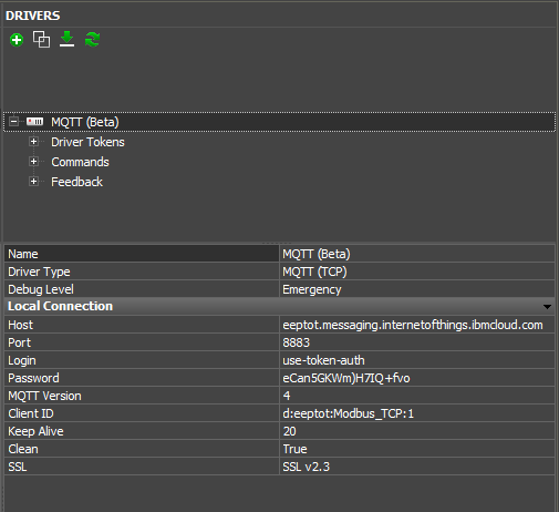 IBM Cloud IoT — for iRidium developers