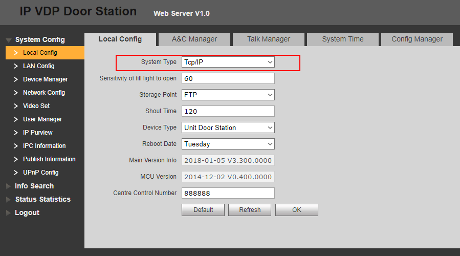 SIP Dahua — for iRidium developers