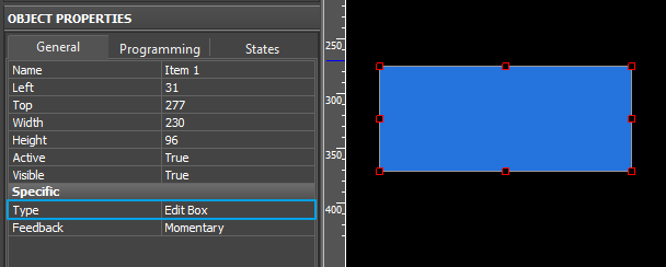 Editor window Object Properties Programming EditBoxSetup.png